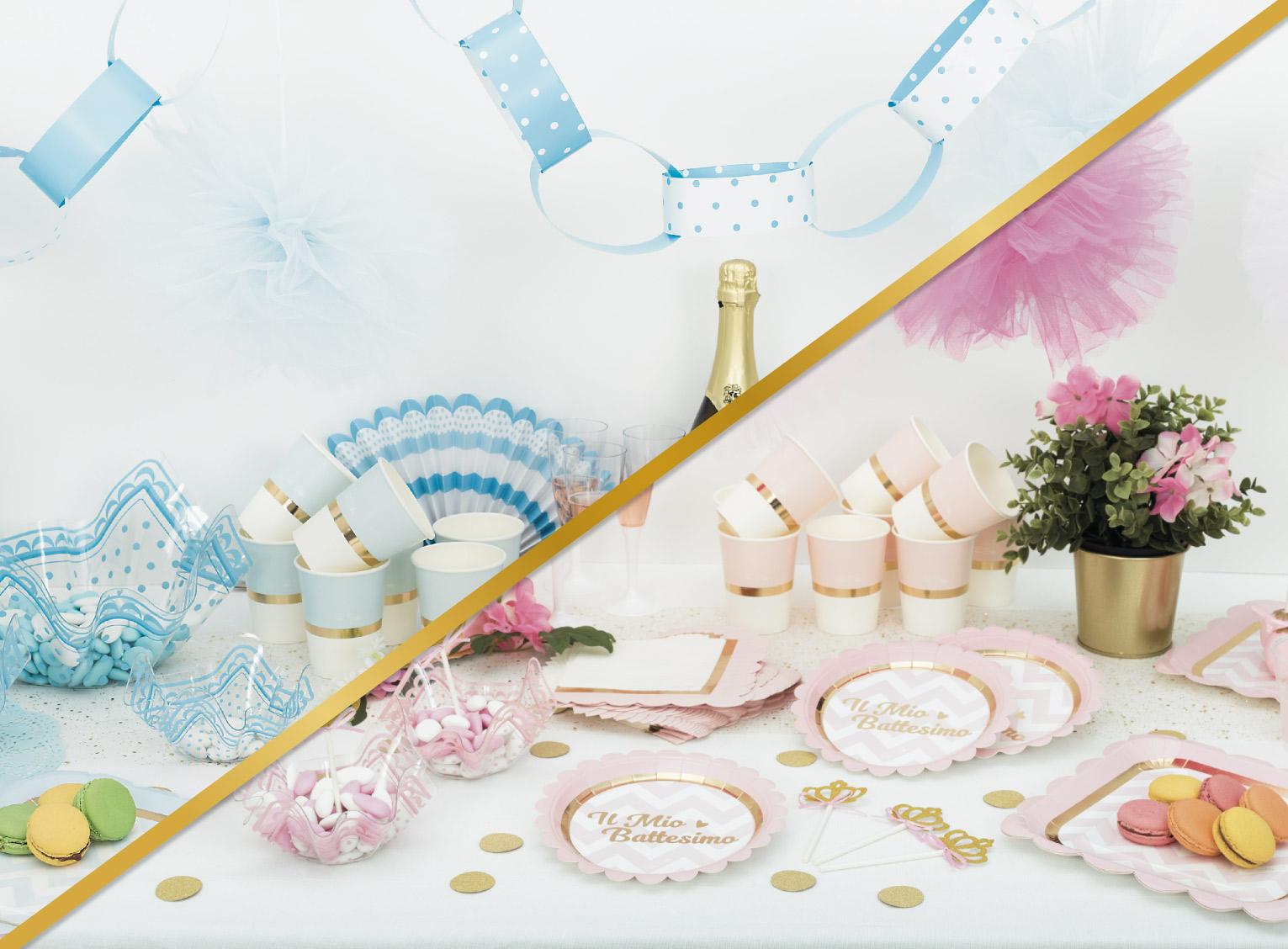 Come Addobbare Un Tavolo Per Confettata baby chic: come allestire la tavola per un battesimo super