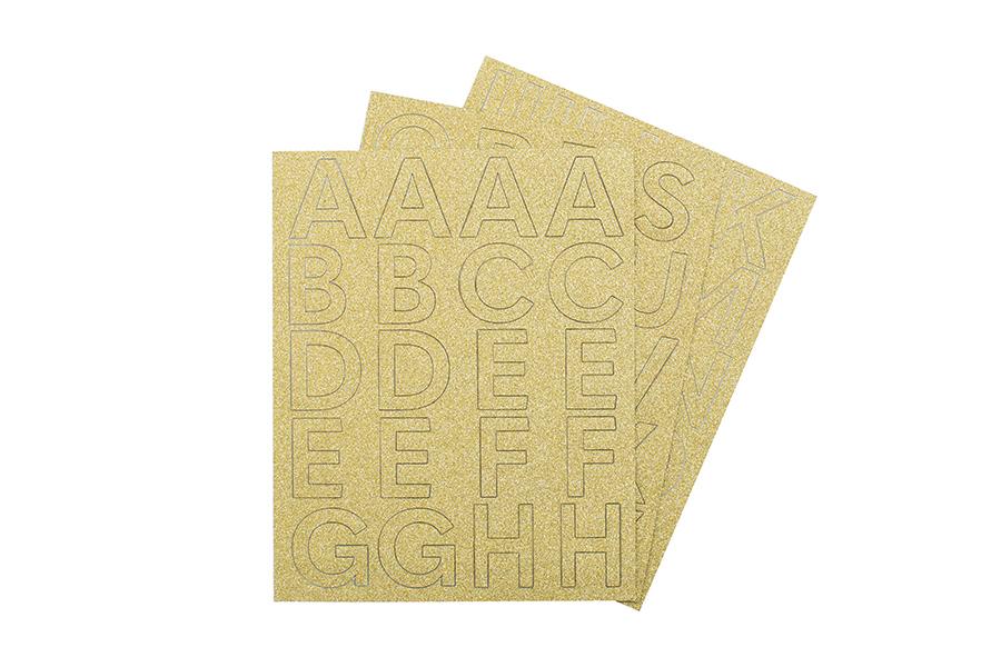 Lettere_Adesive_Glitterate_Oro