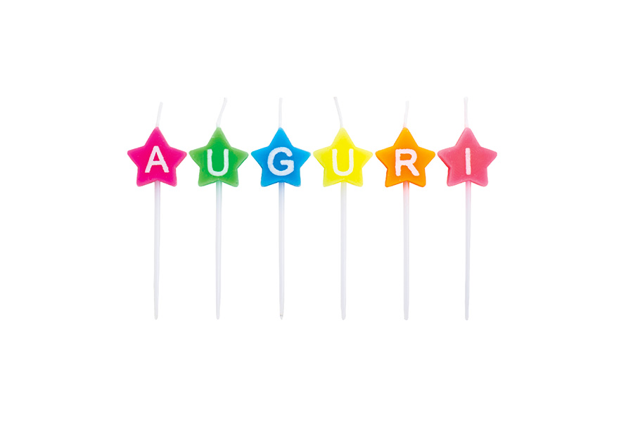 Candle_compleanno_stellamulticolor